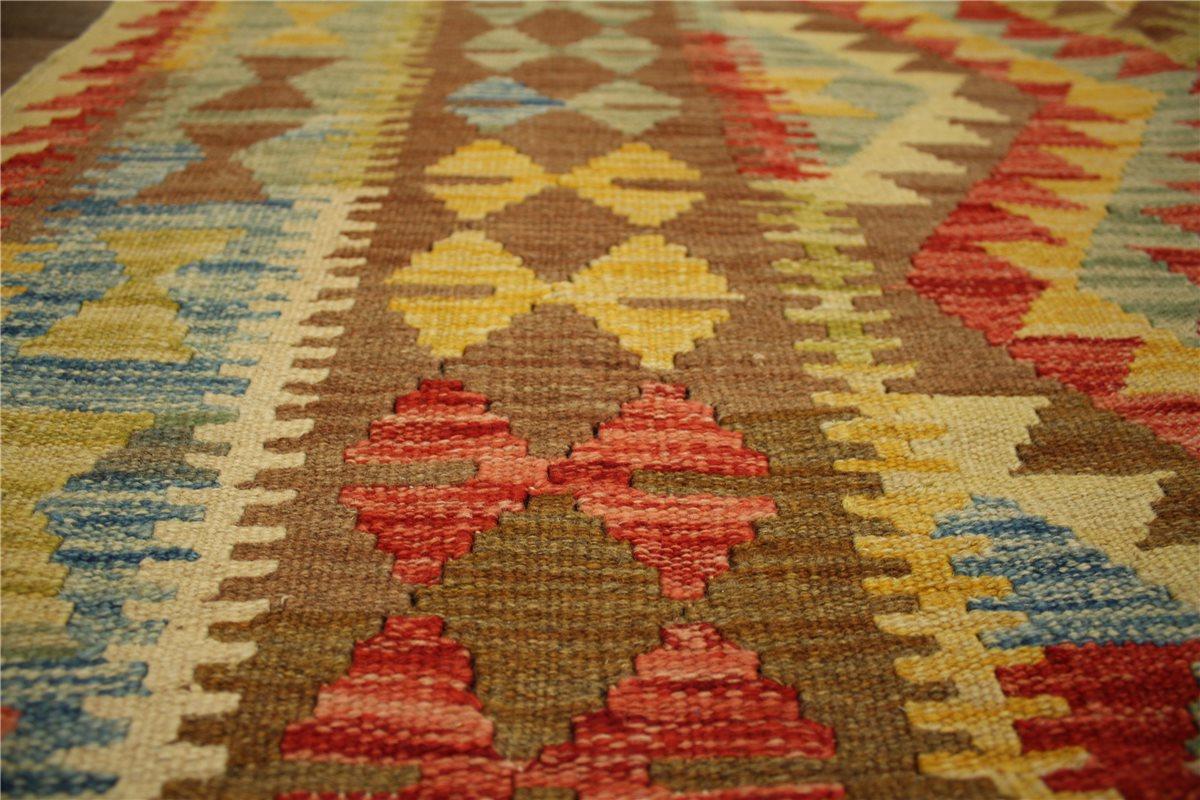 teppich nomaden kelim afghan kilim old style 197x143 cm 100 wolle handgewebt ebay. Black Bedroom Furniture Sets. Home Design Ideas