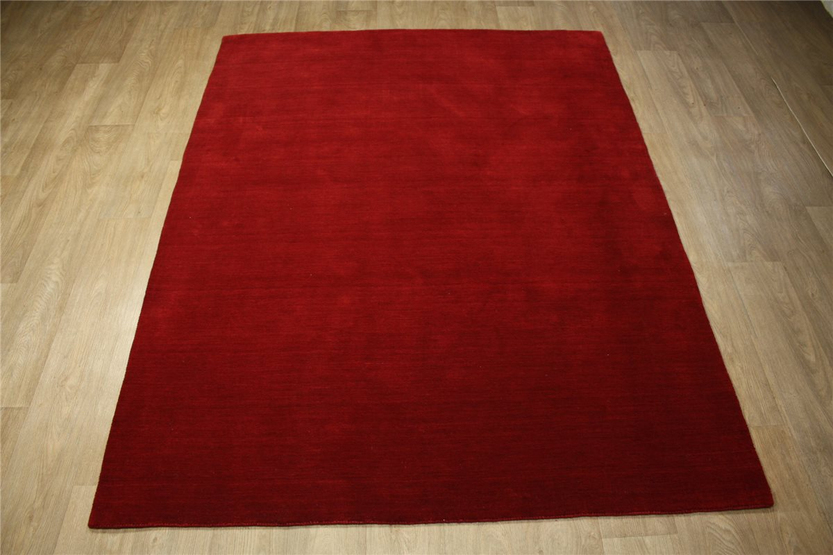 teppich gabbeh fein 170x240 cm 100 wolle handarbeit rot ebay. Black Bedroom Furniture Sets. Home Design Ideas