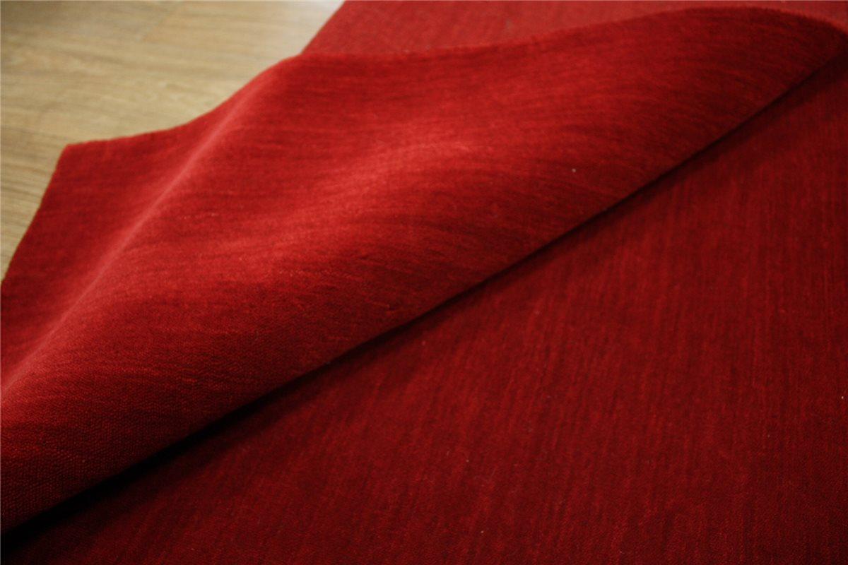 Teppich Gabbeh fein 200×290 cm 100% Wolle Handarbeit rot