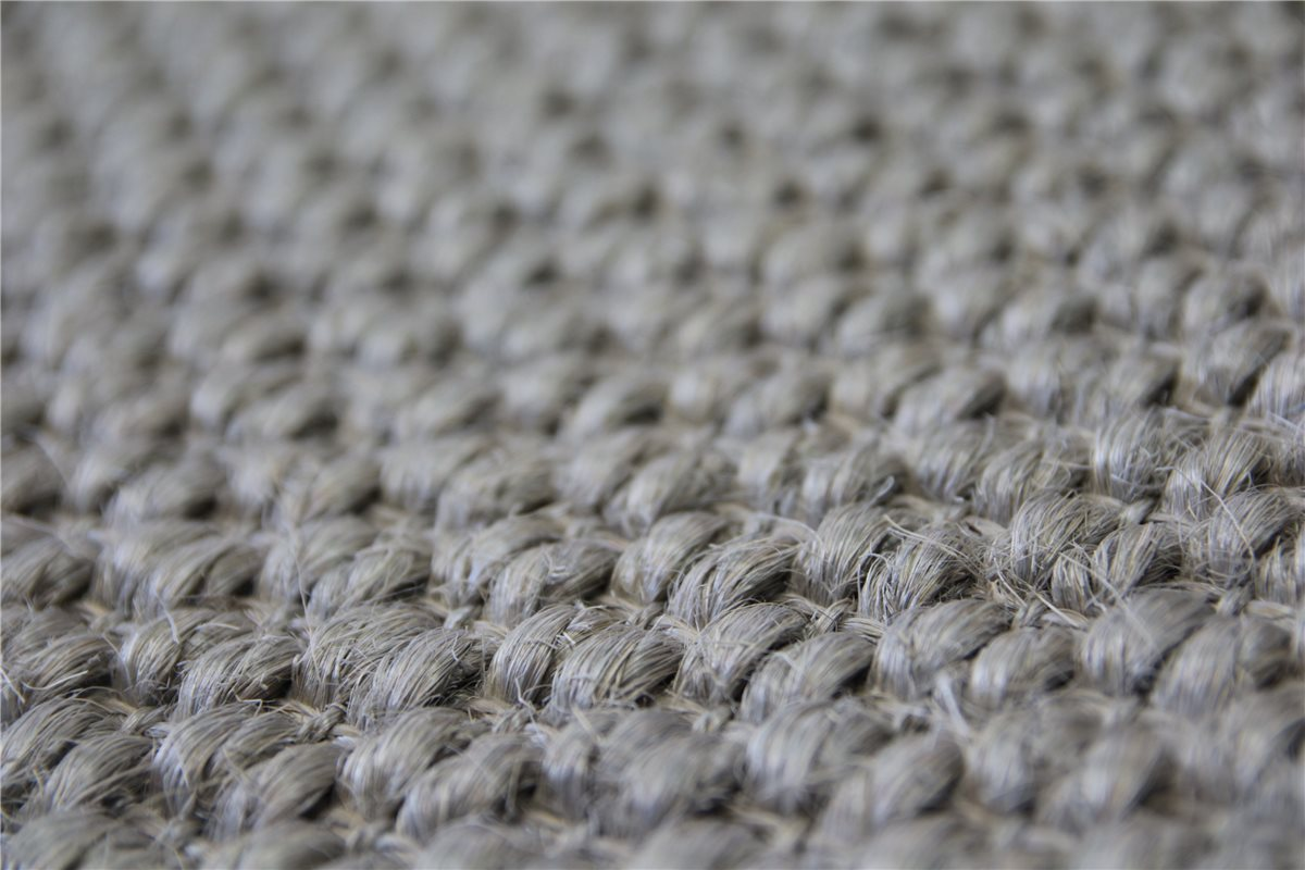 hochwertiger teppich dicke echte sisal 200x300 cm rutschfest silber ebay. Black Bedroom Furniture Sets. Home Design Ideas
