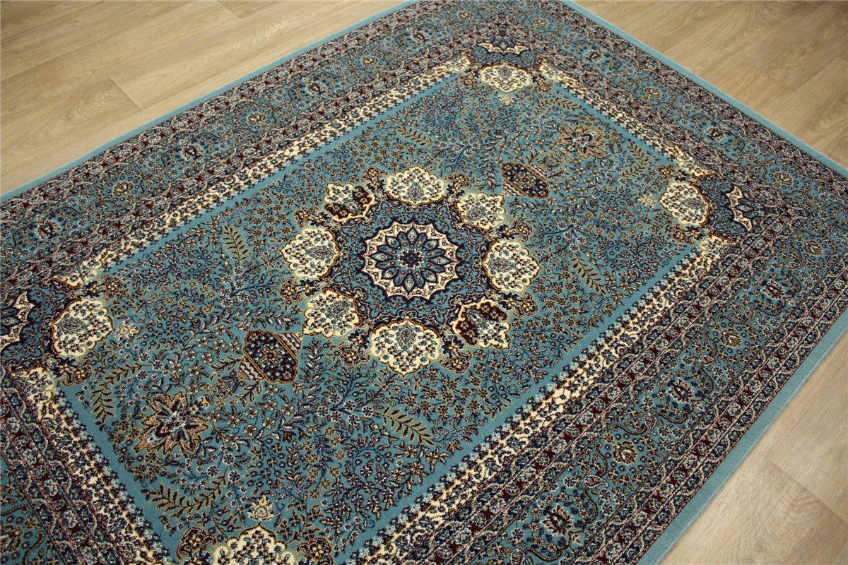 perser teppich orient gewebt 170x240 cm t rkis blau ebay. Black Bedroom Furniture Sets. Home Design Ideas