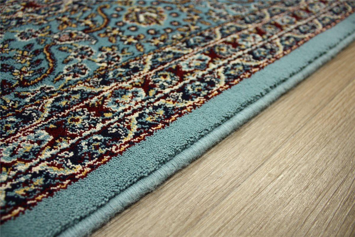 Wohnzimmer Turkis Blau : Perser Teppich Orient gewebt ~ 170x240 cm ...