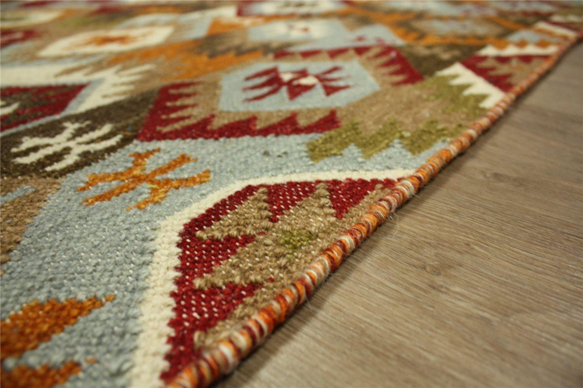 Tappeto nomadi kilim afgano turkmeno 160x230 cm 100 - Tappeto riscaldamento pavimento ...