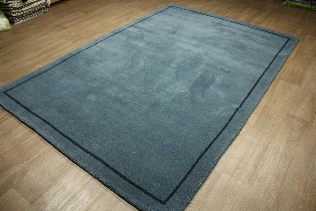 tapis de qualit gabbeh 200x300 100 cm laine nou la main bleu ebay. Black Bedroom Furniture Sets. Home Design Ideas