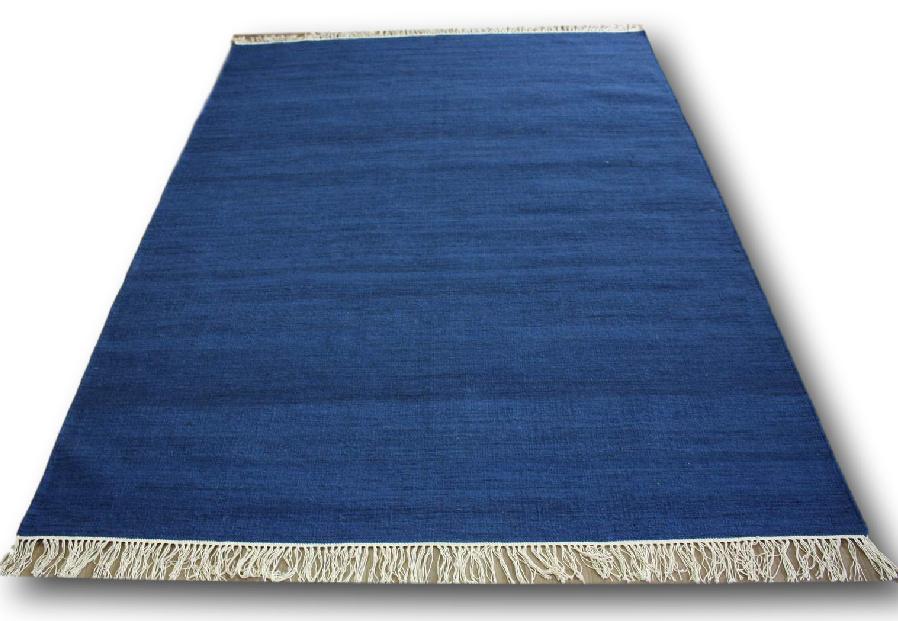 teppich kelim kilim 170x240 cm 100 wolle handgewebt blau ebay. Black Bedroom Furniture Sets. Home Design Ideas