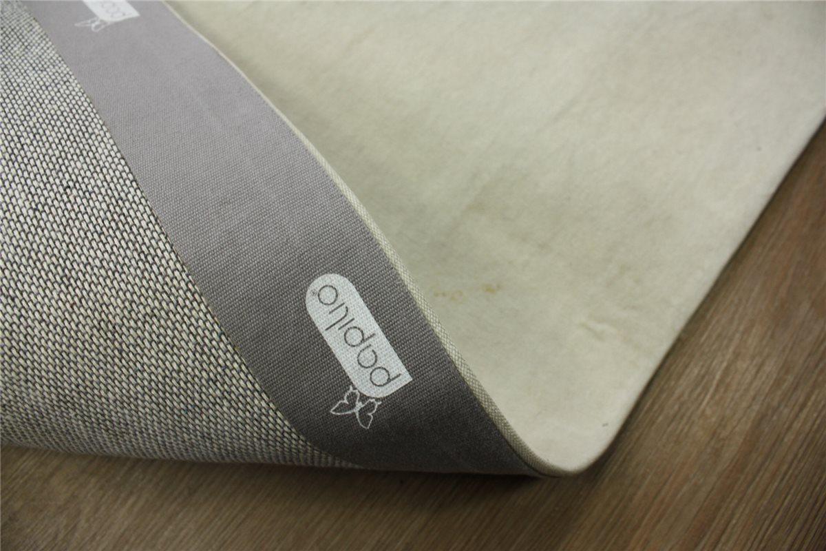 ~ hochwertiger designer Teppich ~ 160×230 cm ~ 100% Leinen