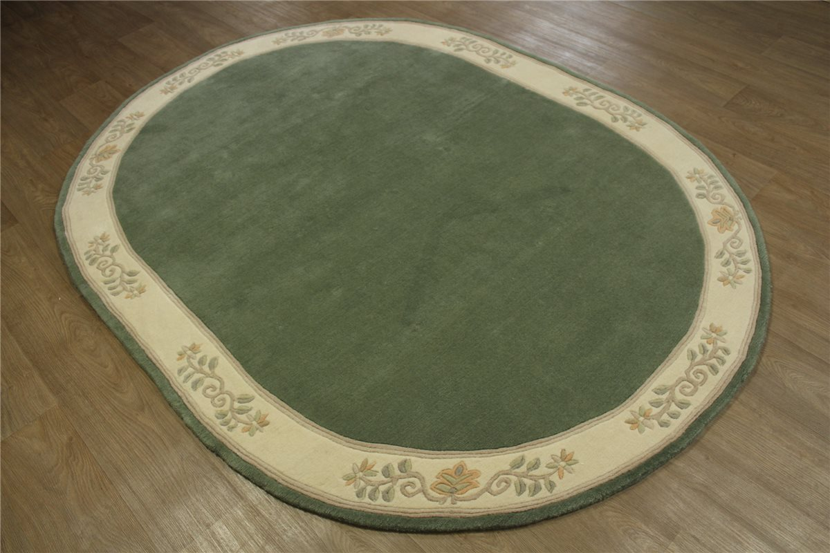 Teppich Oval Original Nepal Tibet fein 180×240 cm 100 %