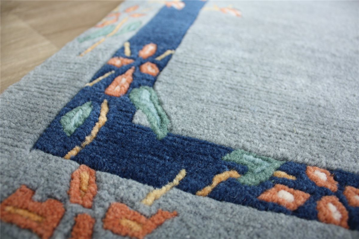 ~ Teppich Original Nepal fein Brücke ~ 95×162 cm ~ 100 %