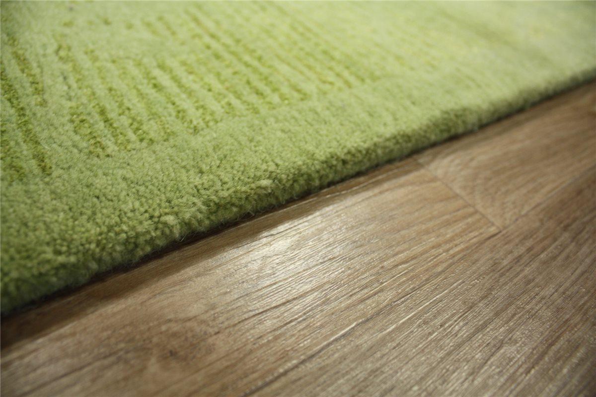 teppich original nepal fein mit seide 170x240 cm 100 wolle gr n. Black Bedroom Furniture Sets. Home Design Ideas