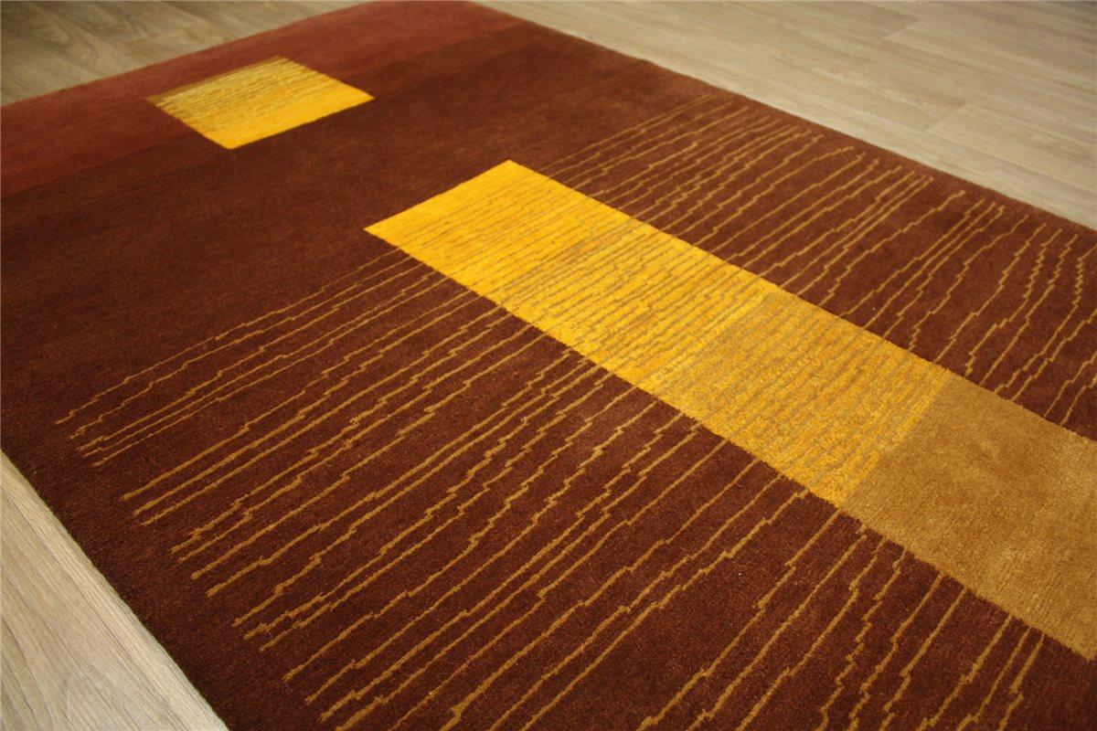 Alta calidad alfombra original nepal tibet multa 120x180 for Alfombras de buena calidad