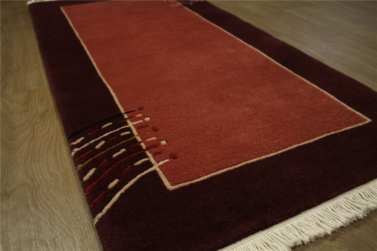 Teppich Original Nepal Tibet Fein Br 252 Cke 90x160 Cm 100