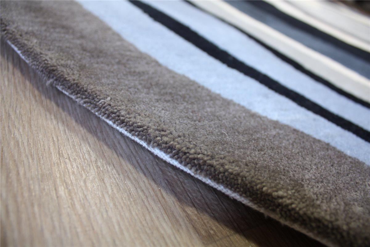 hochwertiger designer teppich xian 250x350 cm 100 acryl handtuft grau 4251170806275 ebay. Black Bedroom Furniture Sets. Home Design Ideas