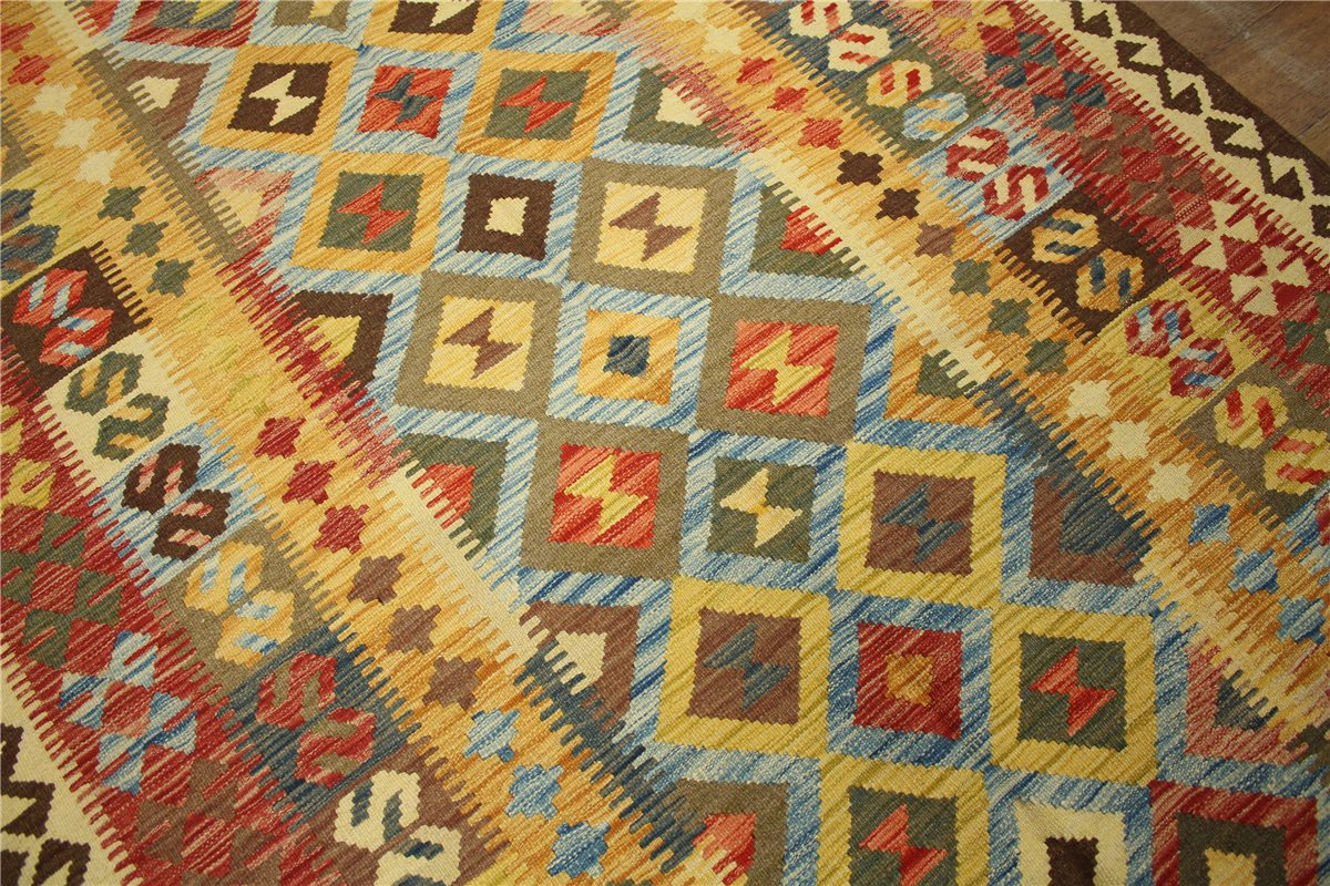 teppich nomaden kelim afghan kilim old style 150x250 cm 100 wolle handgewebt ebay. Black Bedroom Furniture Sets. Home Design Ideas